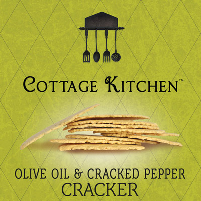 olive oil and Cracked pepper cracker